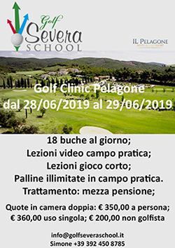 Golf Clinic<br> Il Pelagone